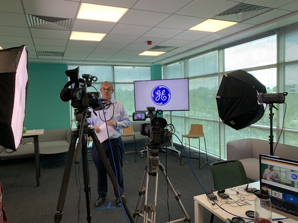 video marketing agency ge healthcare filming